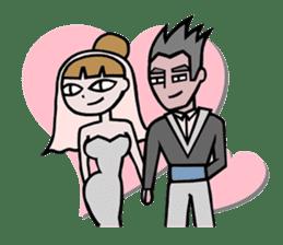 Spouse Lover sticker #6998130
