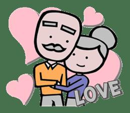 Spouse Lover sticker #6998138