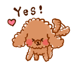toy poodles2 sticker #6998408