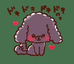 toy poodles2 sticker #6998410