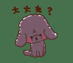 toy poodles2 sticker #6998414