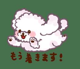toy poodles2 sticker #6998418