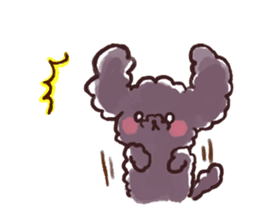 toy poodles2 sticker #6998425