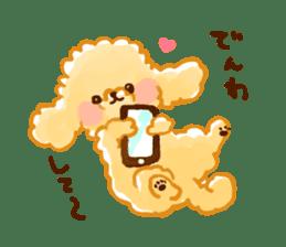 toy poodles2 sticker #6998426