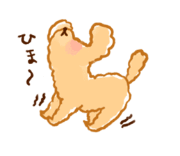 toy poodles2 sticker #6998428