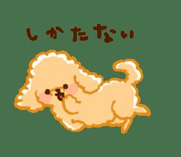 toy poodles2 sticker #6998432