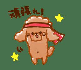 toy poodles2 sticker #6998433