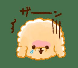 toy poodles2 sticker #6998439