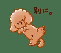 toy poodles2 sticker #6998440