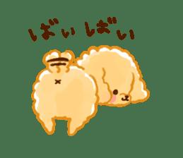 toy poodles2 sticker #6998441