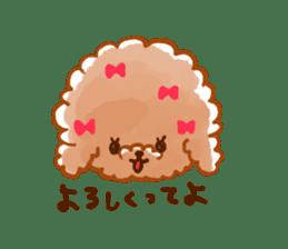 toy poodles2 sticker #6998442
