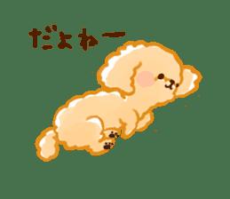toy poodles2 sticker #6998443