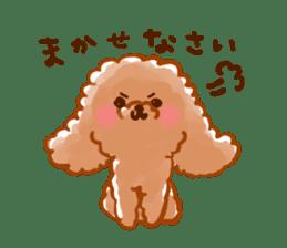 toy poodles2 sticker #6998447