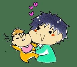 I love Baby! sticker #6999137
