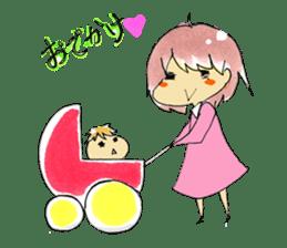 I love Baby! sticker #6999138