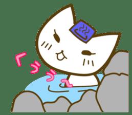 cat yasagure-chan sticker #6999239