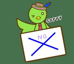 cat yasagure-chan sticker #6999242