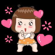 สติ๊กเกอร์ไลน์ JingJung Animated 2