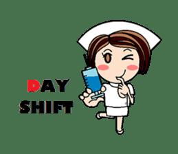 Nan is a nurse Part.4 (Eng) sticker #7003720