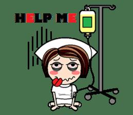 Nan is a nurse Part.4 (Eng) sticker #7003724