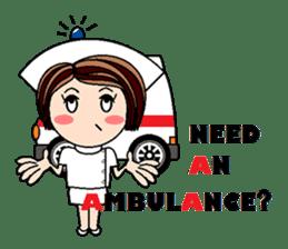 Nan is a nurse Part.4 (Eng) sticker #7003725