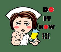 Nan is a nurse Part.4 (Eng) sticker #7003731