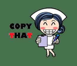 Nan is a nurse Part.4 (Eng) sticker #7003732