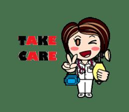 Nan is a nurse Part.4 (Eng) sticker #7003739