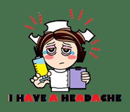 Nan is a nurse Part.4 (Eng) sticker #7003742