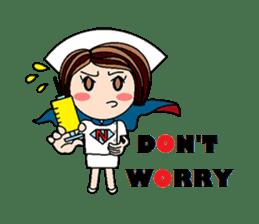 Nan is a nurse Part.4 (Eng) sticker #7003751