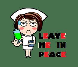 Nan is a nurse Part.4 (Eng) sticker #7003756