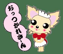 Chihuahua of Kansai dialect sticker #7011172