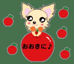 Chihuahua of Kansai dialect sticker #7011175