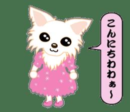 Chihuahua of Kansai dialect sticker #7011183