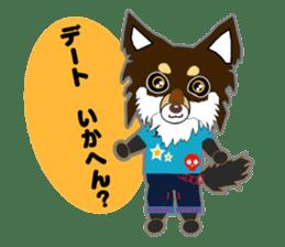 Chihuahua of Kansai dialect sticker #7011193