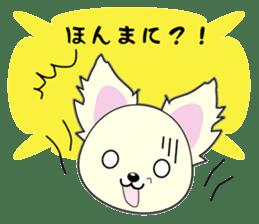 Chihuahua of Kansai dialect sticker #7011204