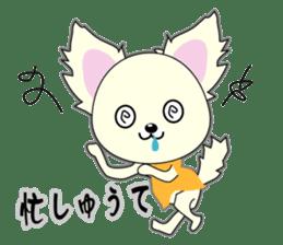 Chihuahua of Kansai dialect sticker #7011205