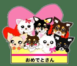 Chihuahua of Kansai dialect sticker #7011207