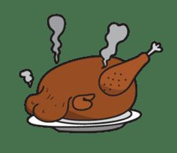 Katak : the white chicken (Eng) sticker #7011473