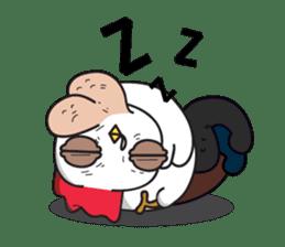 Katak : the white chicken (Eng) sticker #7011478