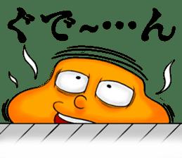 Henguru of clay! sticker #7012022