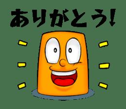 Henguru of clay! sticker #7012042