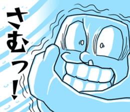 Henguru of clay! sticker #7012046