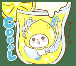 Lemon cat squash 2 sticker #7013053