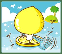 Lemon cat squash 2 sticker #7013057