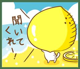 Lemon cat squash 2 sticker #7013058