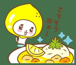 Lemon cat squash 2 sticker #7013065