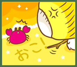 Lemon cat squash 2 sticker #7013069