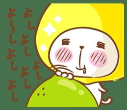 Lemon cat squash 2 sticker #7013075