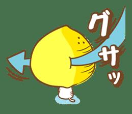 Lemon cat squash 2 sticker #7013078